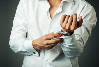 Как накрахмалить рубашку: воротничок и манжеты