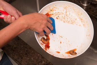 Как почистить сковороду с керамическим покрытием