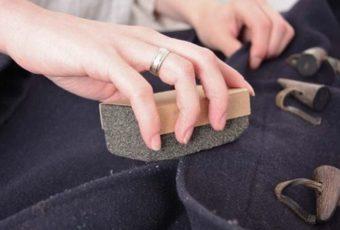 Как почистить пальто из шерсти, драпа и кашемира