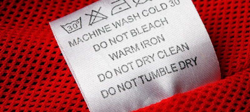 Условные знаки на одежде и их расшифровка