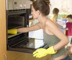 Как отмыть духовку от старого жира
