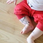 Пятно от маркера на одежде