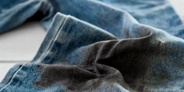 Как вывести пятно от мазута с одежды