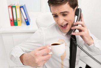 Как вывести кофейное пятно