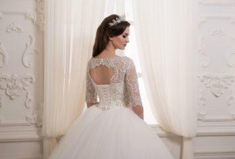Как погладить свадебное платье