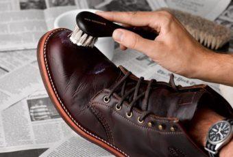Правильный уход за обувью из нубука