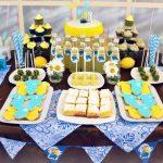 как украсить стол на день рождения ребенка