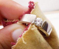Как почистить золото с камнями быстро и эффективно
