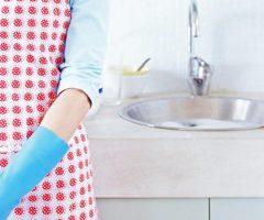 Делаем уборку на кухне и в ванной комнате с помощью народных средств