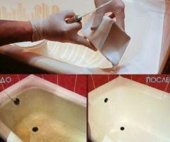 Простой способ, как сделать ванну белоснежной