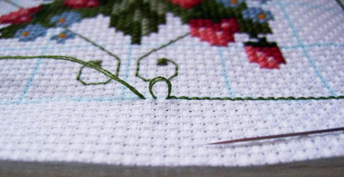 Как правильно стирать вышивку крестиком