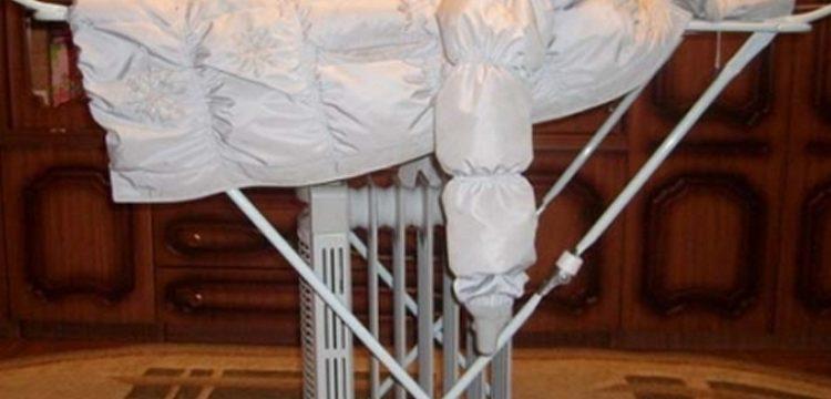 Как в домашних условиях взбить пух в пуховике после стирки
