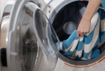 Как стирать плед в стиральной машине: описание с фото