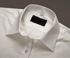 Как отстирать воротник рубашки