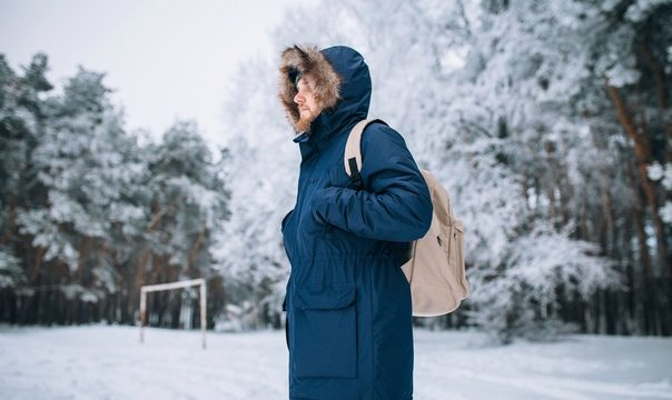 Как стирать зимнюю парку