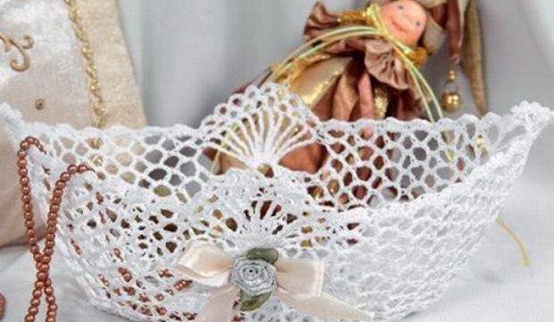 Как накрахмалить вязаное изделие, способы