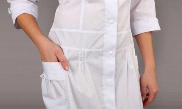 Как отбелить медицинский халат без кипячения
