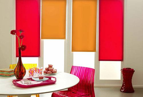 Как в домашних условиях потирать рулонные шторы