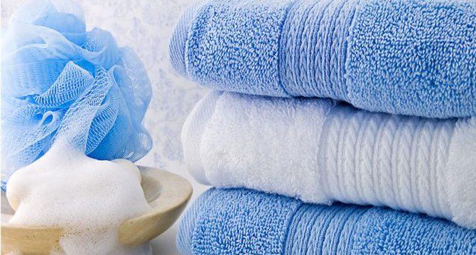 Как отстирать застиранные махровые полотенца