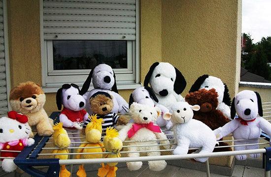 Как постирать мягкие игрушки
