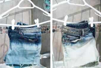 Как отбелить джинсы