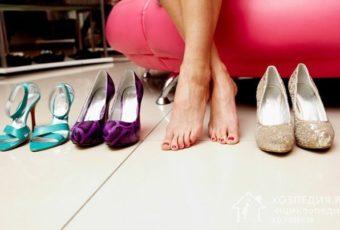 Как быстро разносить туфли