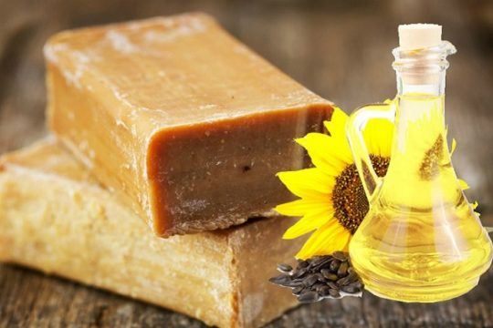 масло и мыло