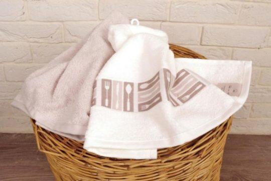 Постиранные полотенца