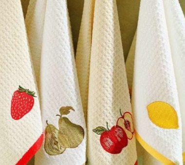Как отстирать от старого жира кухонные полотенца, чтобы были как новые