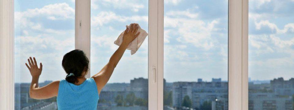 Как быстро и без разводов помыть окна в домашних условиях