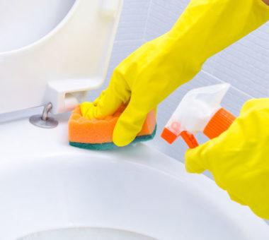 Как легко народными способами очистить унитаз до бела?