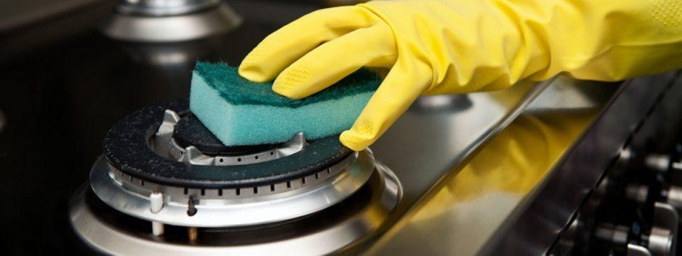 Конфорки на газовой плите будут сиять, просто почистите