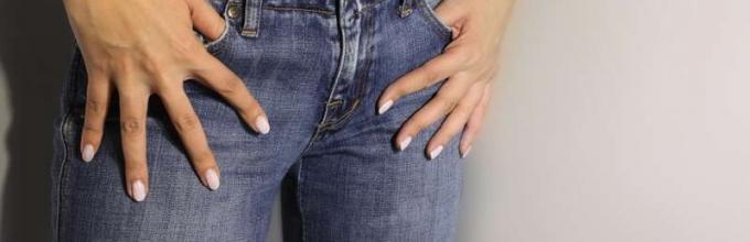 Интересные идеи, как зашить джинсы между ног