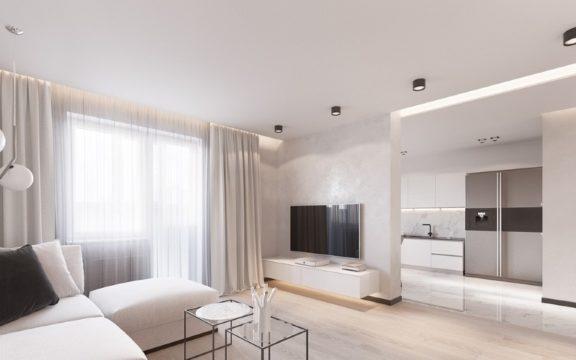 Гостиная в минимализме