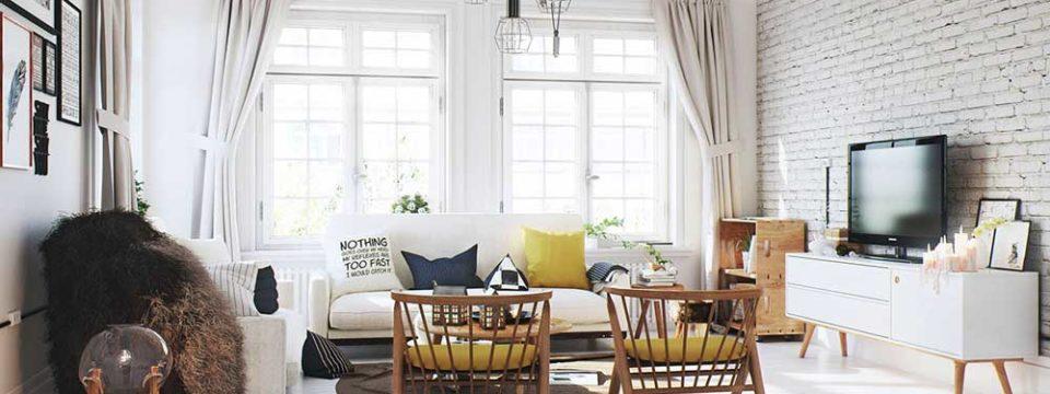 Идеи интерьера гостиной 20 кв метров, лучшие фото дизайна комнаты