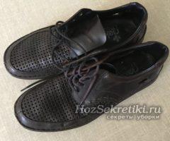 Супер способ улучшить вид обуви из экокожи