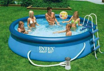 Спасем бассейн от прокола — заклеим его быстро и просто