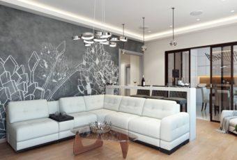 Дизайн квартиры в светлых оттенках: современный стиль, фото новинок