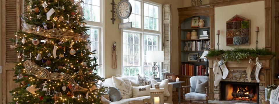 Как интересно украсить дом на Новый 2019 год