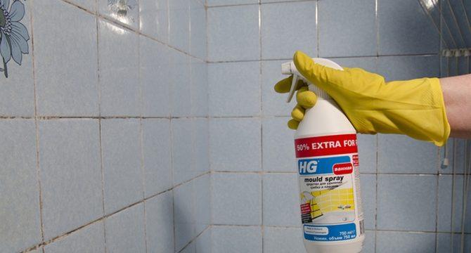 Чем отмыть швы между плиткой в ванной от плесени народными и бытовыми средствами
