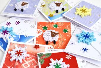 Красивые открытки на Новый год 2019 своими руками