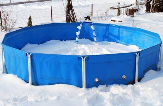 бассейн хранение зимой