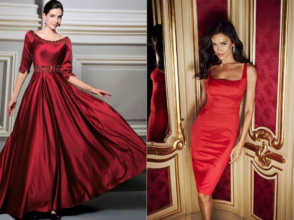 Красные наряды