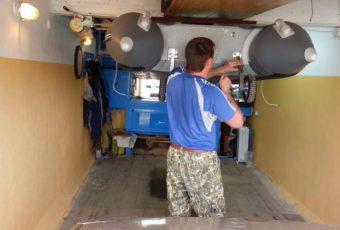 Как правильно хранить лодку ПВХ зимой в гараже