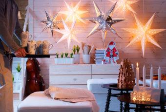 Идеи декорирования квартиры на Новый год 2019