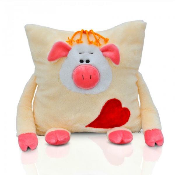 Подушка со свинкой