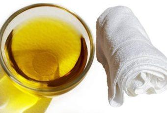 Как отбелить кухонные полотенца с растительным маслом