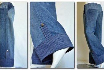 Как удлинить джинсы: женские, мужские, детские