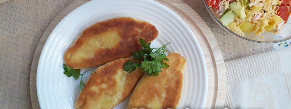 Быстрые жареные пирожки на кефире с картошкой – готовятся моментально