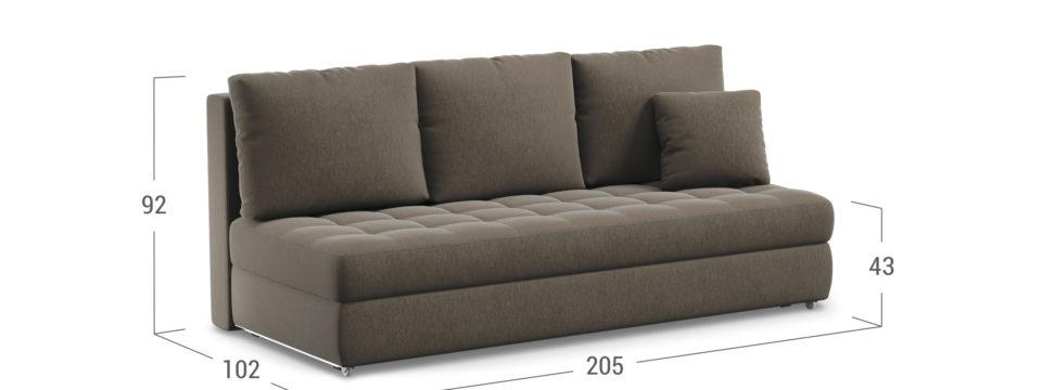 Прямой диван в новую квартиру: как правильно спланировать дизайн интерьера